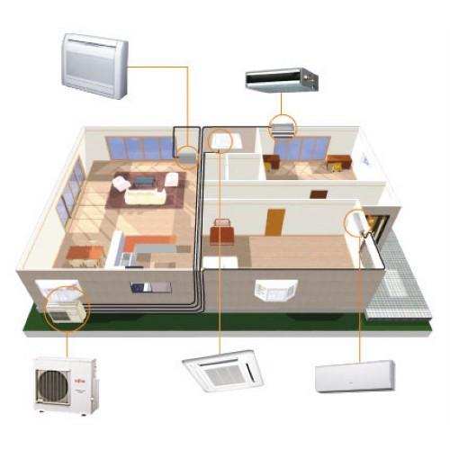 klimager te split klimager te inverter gesteuert mit. Black Bedroom Furniture Sets. Home Design Ideas